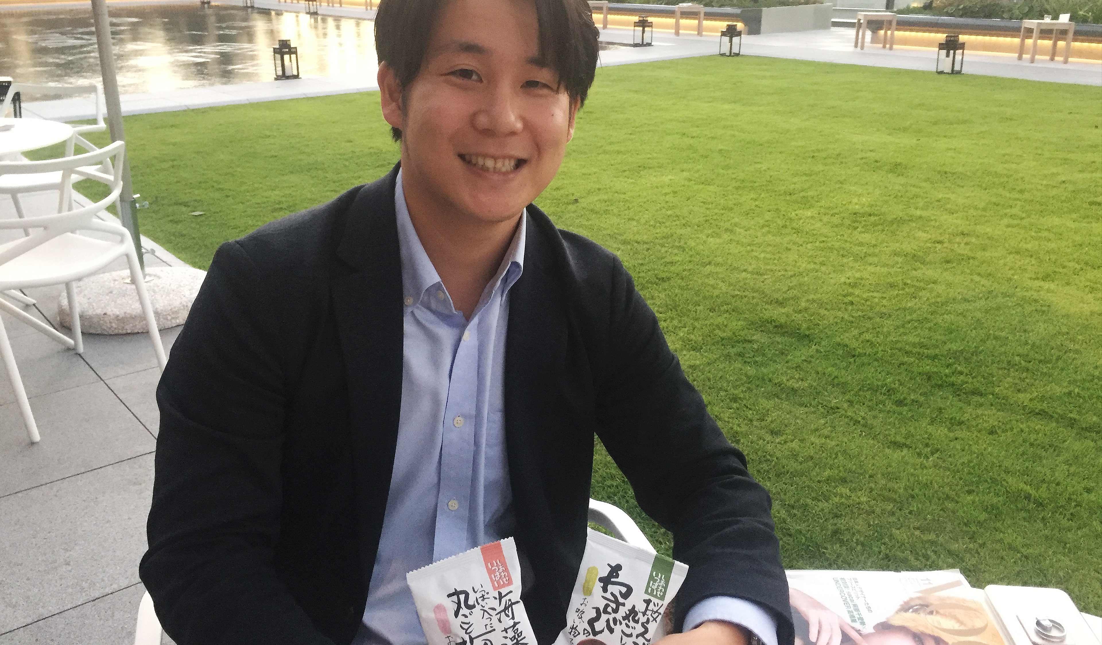 株式会社コスモス食品 圓井大輔(創業一家三代目候補)/ 営業部兼販促部 部長
