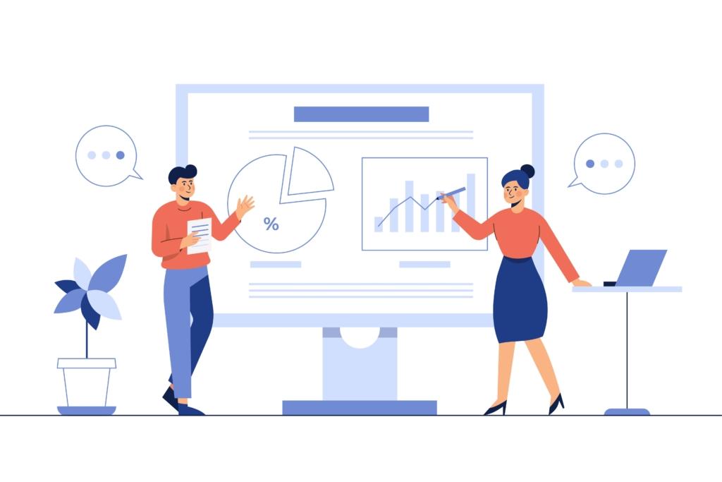 自社が抱える課題の分析と市場の分析